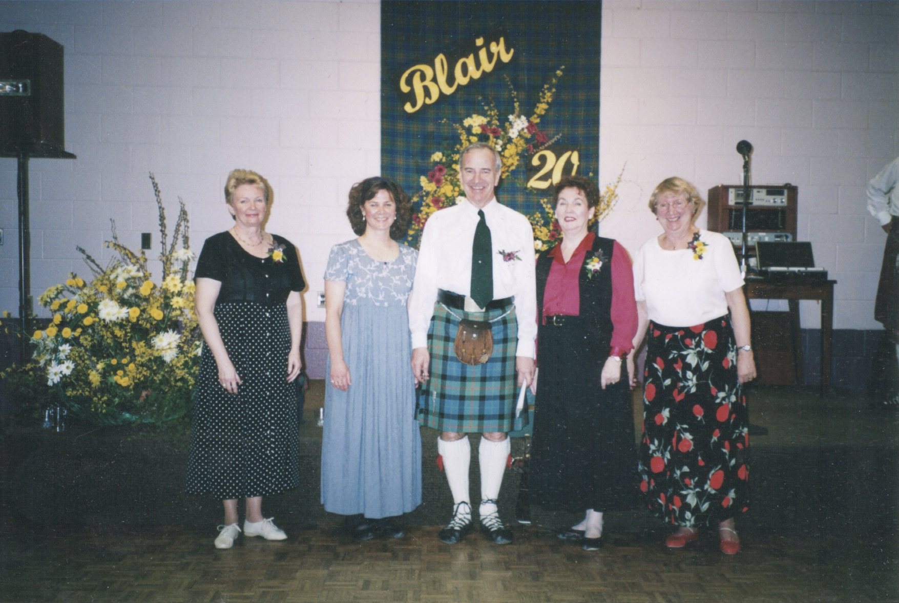 Blair Scottish Country Dance Teachers 2000